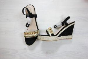 Wedge Sandals black