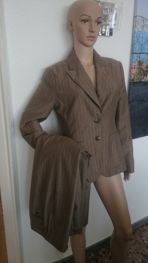 H&M Pinstripe Suit multicolored wool