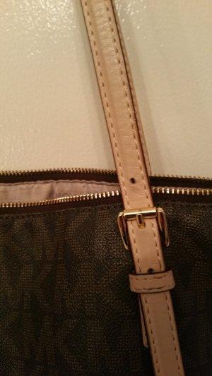 ✏ SALE MICHAEL Kors Handtasche Shopper original braun absolut NEUWERTIG da nur kurz getragen