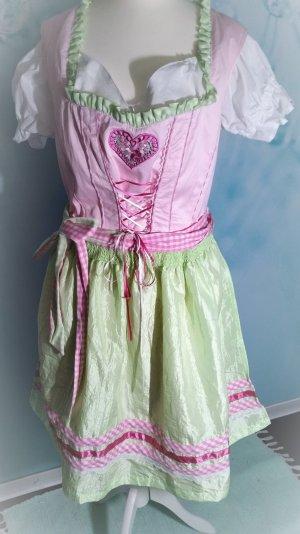 Sale!! Modisches Dirndl Hailys Heidi XL 42 mit Bluse Neu mit Etikett
