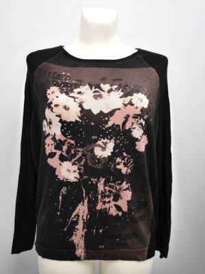SALE! MONARI: Luxus-Pullover mit Foto-Print und Strass Steinen - TOP!
