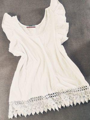 Blusa bianco sporco