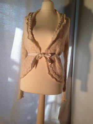 Strickjacke mit Wolle von Mango Gr. S