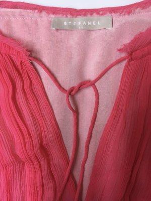 SALE! Pinkes Seidenkleid von Stefanel