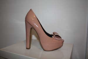**Sale** Plateau Peeptoes in nude / altrosa Gr 35,5