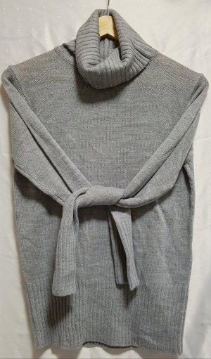 Janina Pull-over à col roulé gris clair acrylique