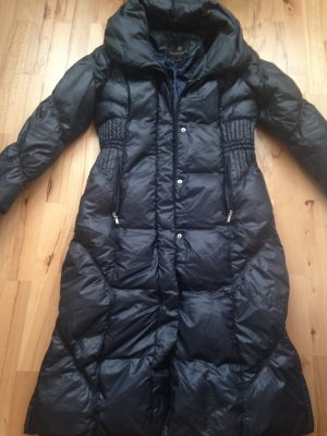 Hugo Boss Abrigo de plumón negro-gris antracita