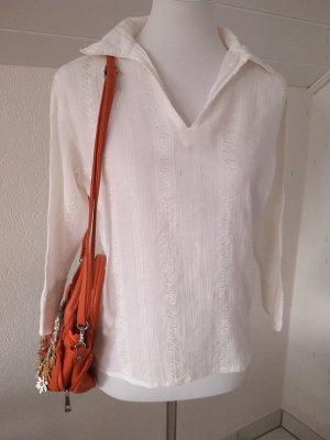 Sale%%schöne Bluse,Shirt,in weiß,luftig,leicht,Gr.38♡