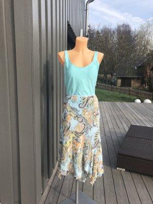 SALE!!! * Schöner Zipfelrock mit floralem Muster * tolle Farben