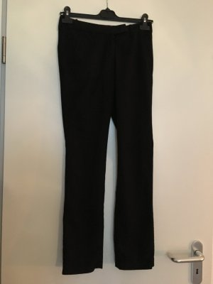 Benetton Pantalone peg-top nero