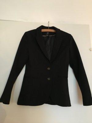 Sale! schwarzer Jerseyblazer von H&M, Größe 36