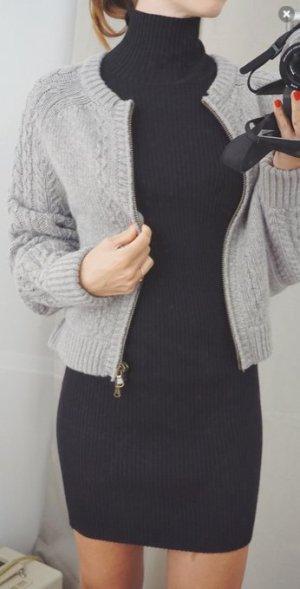 *SALE* See by Chloé Luxus Strickjacke oversized Premium grau Wolle XS 34 NEU