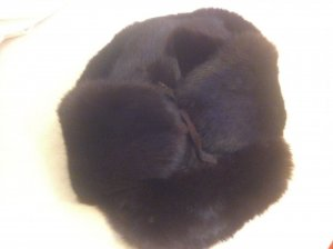Fur Hat dark brown
