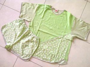 Sale% sexy Schlafanzug,Pyjama von Triumph, Shirt, Hose,Gr.S/38,apfelgrün