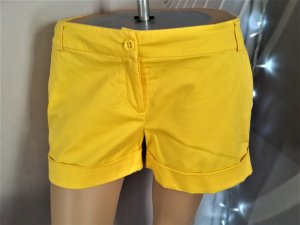Sale! Shorts Hot Pants Gr 38 Orsay Gelb sehr gut erhalten