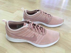 Sale:  Sneaker von Nike Gr. 40,5 Rose/Nude Echtleder, *selten*