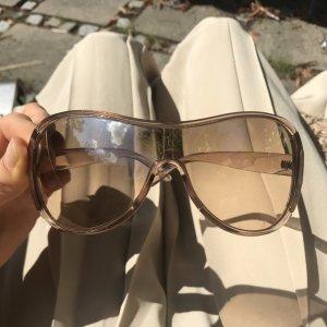 Yves Saint Laurent Gafas de piloto marrón claro-color oro