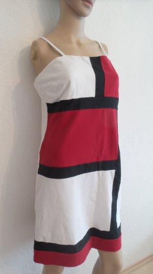 SALE!!! Stretchkleid aus Baumwolle dreifarbig Gr. 40/42