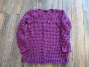 SALE! Strickpullover in Brombeere XS