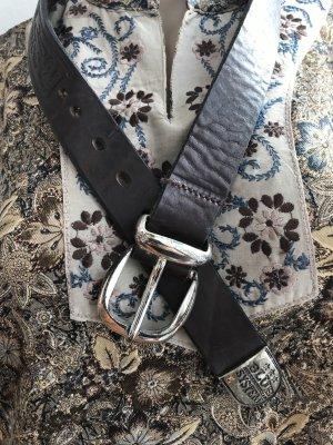 Jet Set Leather Belt multicolored leather