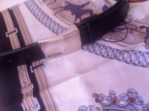 Tod's Leather Belt black leather