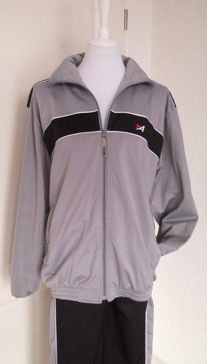 Sale%Trainingasanzug/Sport-Jacke + -Hose/Homeware/Hausanzug schwarz/grau in Gr.S