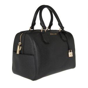 SALE V.DO23.03-SA25.03Michael Michael Kors Mercer MD Duffle BAG Leather Black