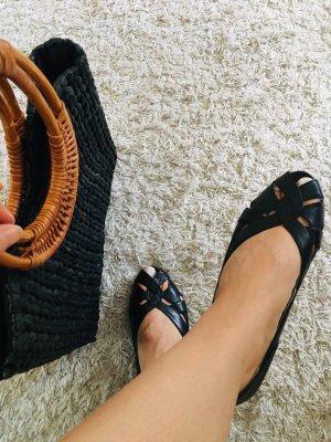 SALE! Vintage Sandalen, Italienischen Leder, Sommermode, Wunderschön