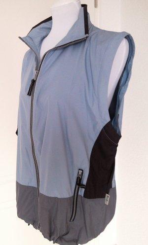 ♡Sale%Walking-Jacke,Sportjacke,Fitnessjacke,blau,Langarm-+Kurzarm-Jacke,Gr.S/36