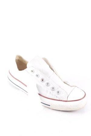 SALE!!! Wegen Umzug nur noch kurze Zeit!!! Schlagt zu! ;-))  Converse Schlüpfsneaker weiß-hellbeige sportlicher Stil