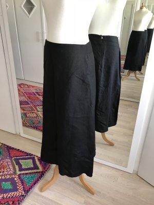 SALE!!! * Wunderschöner schwarzer Leinenrock * NEU und ungetragen!