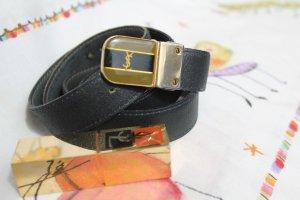 "Sale:""YSL"" - Vintage Gürtel, dunkelblau, M, Original"