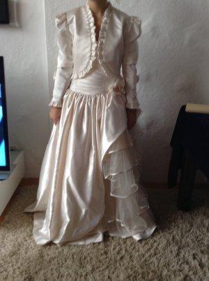 Wedding Dress cream satin