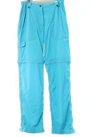 Salewa Pantalone cargo turchese stile casual