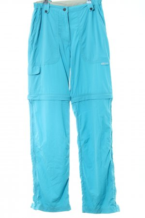 Salewa Cargo Pants turquoise casual look
