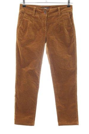 Salewa Pantalone di velluto a coste marrone stile casual