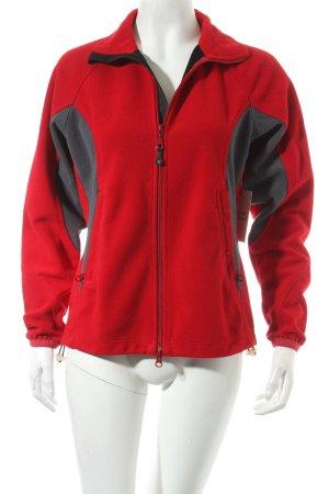 Salewa Fleecejacke rot sportlicher Stil