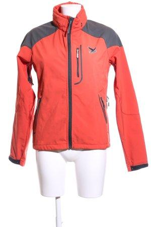 Salewa Outdoor Jacket red-black casual look