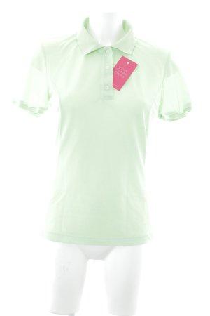 Salewa Polo-Shirt neongrün Casual-Look