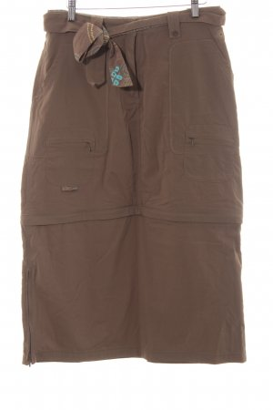 Salewa Broomstick Skirt brown athletic style