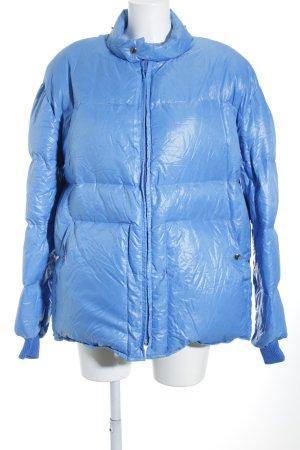 Salewa Winterjacke kornblumenblau sportlicher Stil