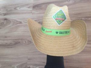 Straw Hat sand brown