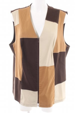 Sallie Sahne Quilted Gilet multicolored street-fashion look