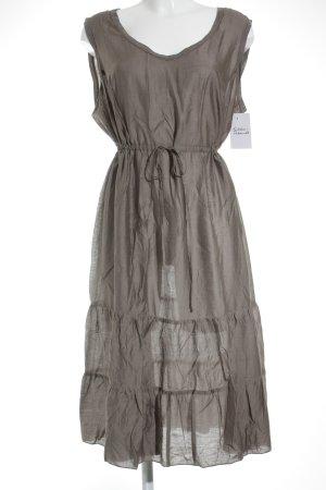 Sallie Sahne Fond de robe gris brun Look de plage