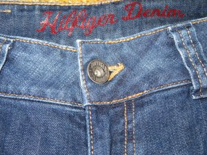 Hilfiger Denim Stretch Jeans dark blue-blue cotton