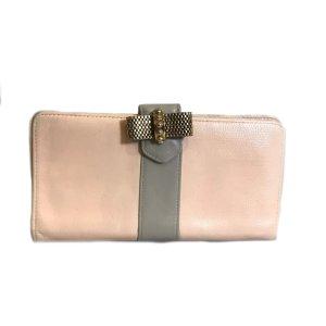 Salmon Pink  Christian Louboutin Wallet