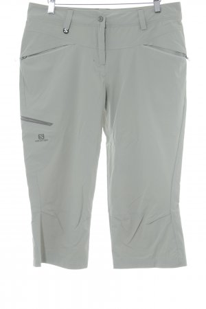 Salomon Capris light grey athletic style