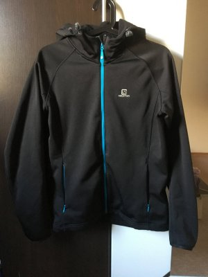 Salomon Sports Jacket black-turquoise