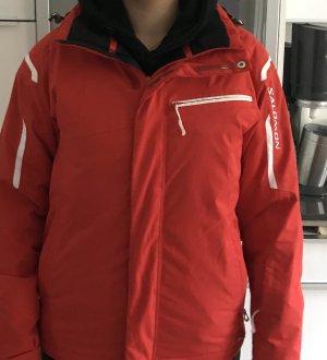 Salomon Jacke Skijacke Frauen XS 34 rot Jacke Zustand gut Snowboardjacke