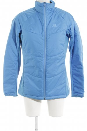 Salomon Outdoorjacke neonblau Casual-Look